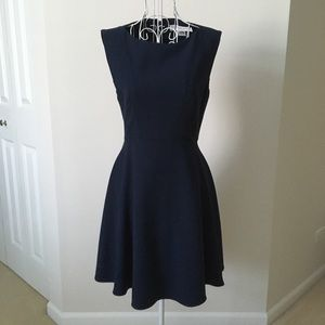 French Connection Classic Navy Sleeveless Dress